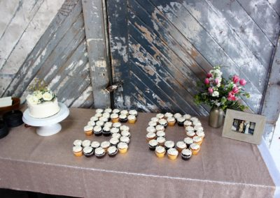 50th anniv party cupcakes
